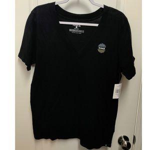 Hurley Black Basic Sun And Only V-Neck Shirt